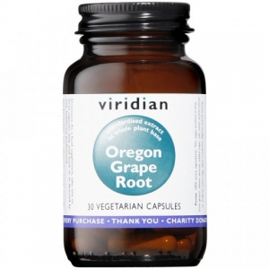 Viridian Oregon Grape Root 350mg Capsules