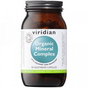 Viridian Organic Mineral Complex 90 Capsules